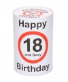 Spaarblik 18e verjaardag 15 cm