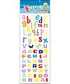 Letters alfabet stickervellen
