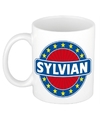Sylvian naam koffie mok beker 300 ml