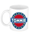 Tommie naam koffie mok beker 300 ml