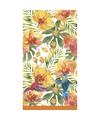 Tropische print tafellaken tafelkleed 138 x 220 cm herbruikbaar