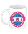 Trudy naam koffie mok beker 300 ml