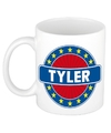 Tyler naam koffie mok beker 300 ml