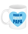 Vaderdag mok beker voor de liefste papa 300 ml