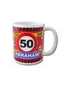 Verjaardag 50 jaar abraham mok beker 250 ml