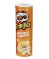 Blik Pringles oranje cheddar cheese