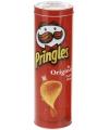 Voorraadblik Pringles opdruk rood