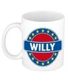 Willy naam koffie mok beker 300 ml