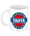Yahya naam koffie mok beker 300 ml