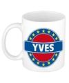 Yves naam koffie mok beker 300 ml