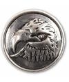 Zilveren chunk arend 1 8 cm