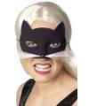 Catwoman oogmasker met snorharen