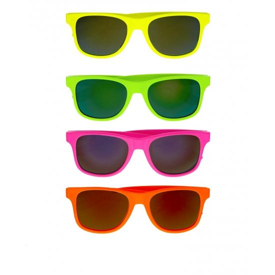 cef6a0f26845d2 Gekleurde retro zonnebril